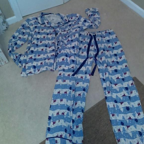867252cd simple pleasures Intimates & Sleepwear   2 Piece Pajama Pjs Set Plus ...